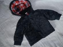 2598- přechodový kabátek 6-9 měsíců, f&f,74