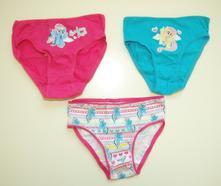 3pack kalhotky my little pony, 98 - 128