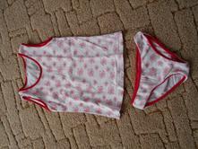Soupravička - kalhotky a tílko, 98