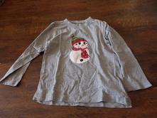 Tričko sněhulák, bonprix,104