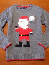 Nádherný vánoční svetr next vel 122, next,122