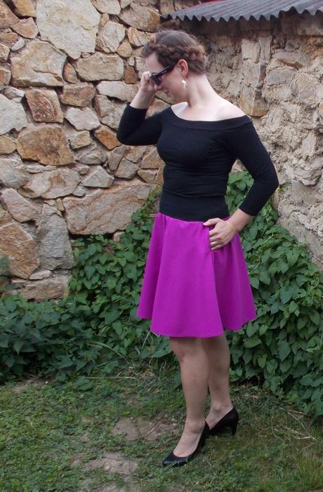Dámská univerzální sukně, s / xl