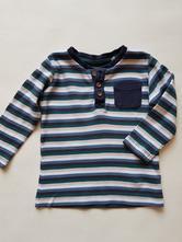 Pruhované tričko, lupilu,80