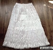 Krásná plisovaná dlouhá sukně,top stav, 48