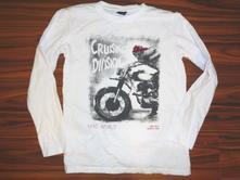 Luxusní tričko - kostra na motorce, chapter young,158 / 164