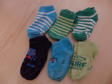 Nízké ponožky vel. 23-26, lupilu,23