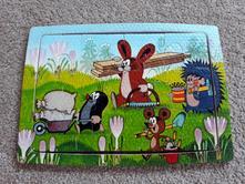 Pěnové puzzle krteček a jeho kamarádi 12 dílů,