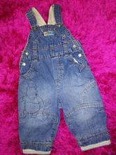 Disney podšité džíny, h&m,68
