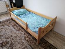 Dřevěná postel mája via, 80,180