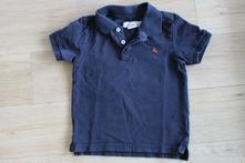 Tričko polo černé, h&m,110