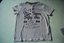 Tričko proužek, f&f,122