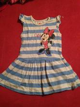 Dívčí šaty - šatičky minnie, disney,80