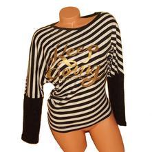 Asymetrický svetr, top miss azur vel.s/m, s
