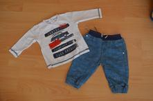 Krásný primigi set s auty kalhoty a tričko vel. 62, primigi,62