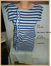 Tunika tričko dlouhé vel s námořník, s