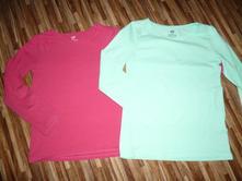 2 x tričko 122/128, h&m,122