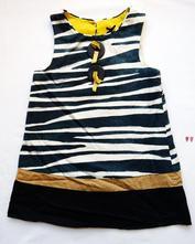 """Šaty se """"zebrou"""", next,98"""