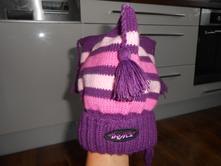 Zimní čepice, dráče, vel 50-52, 50
