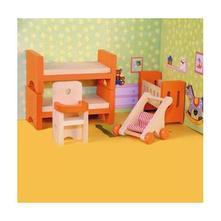 Nábytek do domečku pro panenky dětský pokoj,