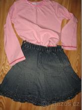 Tričko a džínová sukně, 104