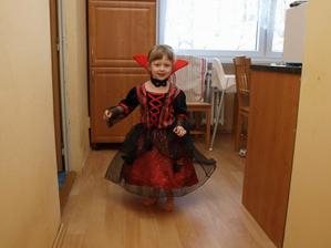 Půjdu na karneval za vampíří princeznu :-)