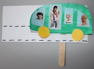 Autobus na špachtli ... jezdí po silnici a veze mnoho cestujících :-)