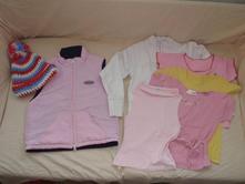 Oblečení pro holčičku vel. 110/116, 110