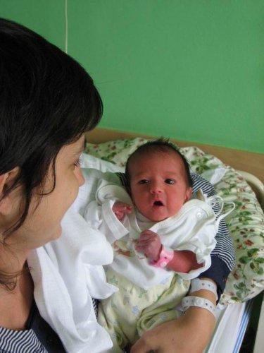 Sárinka s maminkou