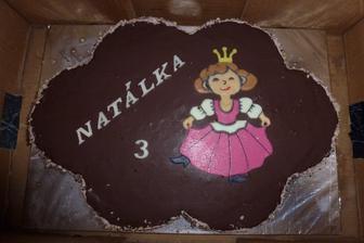Natálčin výborný dortík:-)