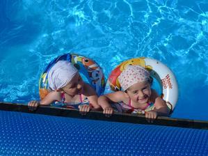 Hotýlek s bazénem byl dobrý nápad :)