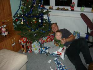 vánoční s tatínkem