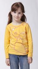 Žluté triko s dlouhým rukávem,vel.98-134, 98 - 134