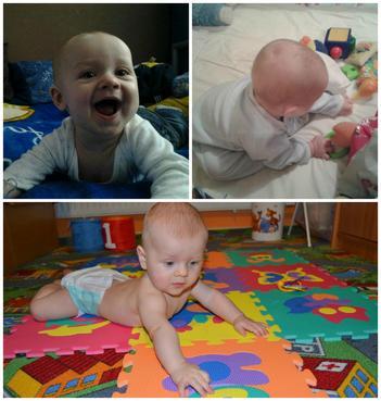 6. měsíc vývoje dítěte