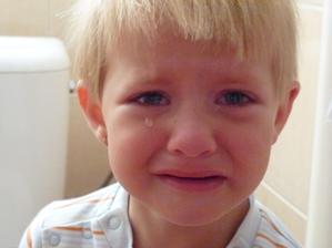 Pláč nad definitivní ztrátou dudlíku:-(