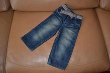 Rifle - džíny s páskem pro v. 92-98, next,92