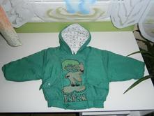 Zimní bunda s obrázkem, 86