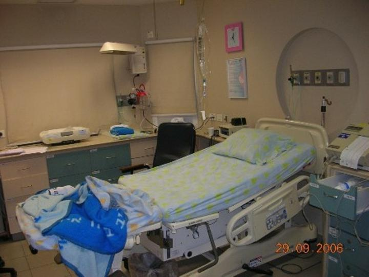 Porodni pokoj kde jsem rodila