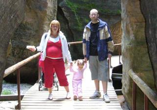 Rodinka na výletě :-)