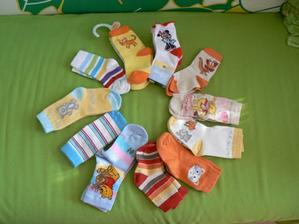 Sestava ponožek od babičky