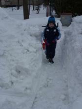 Když je ještě byl sníh:-)