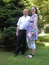 38 tt s manželem na svatbě
