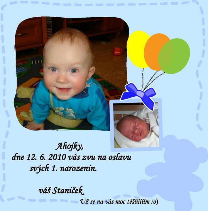 pozvánka na první narozeniny Přípravy na první narozeniny   Pozvánka pro rodinu   Album  pozvánka na první narozeniny