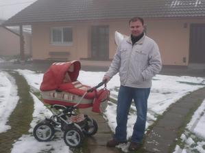 aj táta kočárkoval :)