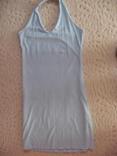 Modré lehké letní šaty m/l, m