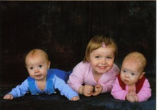 naše tři dětičky