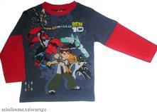 Chlapecké licenční triko ben 10, 116