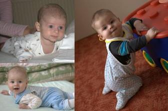 Matysek od swead ve 3, 6 a 9 mesicich