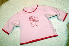 Fleecová mikinka, baby club,74