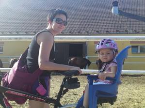 na výletě na kole
