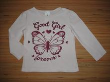 Tričko s motýlem, c&a,92